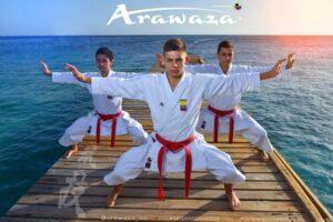 Equipo Kata Selección Nacional Colombia de Karate-Do - Arawaza: Los mejores karateguis en Colombia - Ordena online protectores, uniformes y todo tipo de accesorios de Kárate de la mejor calidad