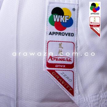 Arawaza Onyx Zero Gravity WKF Aprobado
