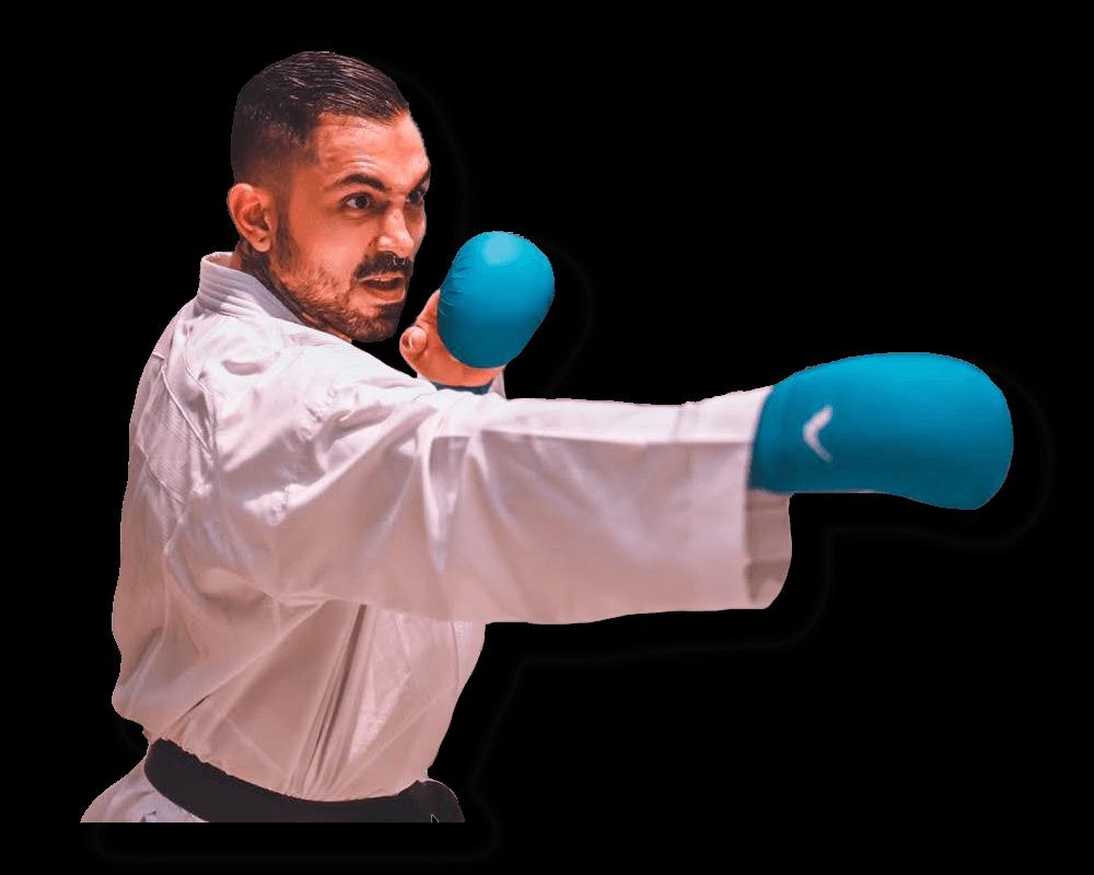 Diego Fernando Lenis Calderón - Karateka Selección Colombia - Arawaza Colombia: compra online los mejores karateguis y uniformes de karate en Colombia