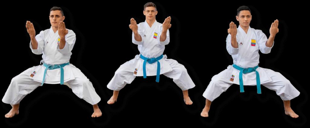 Equipo Kata - Selección Karatekas Colombia - Arawaza te trae los mejores uniformes, accesorios y equipos de karate en toda Colombia
